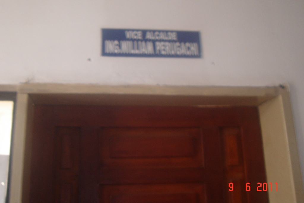 ingeniero vice alcalde - William Perugachi